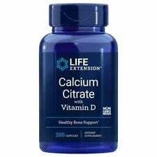 Nouvelle annonce Calcium Citrate W/Vitamine D 200 Comprimé Veg