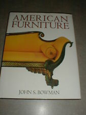 American Furniture Book By John S. Bowman Hard Cover