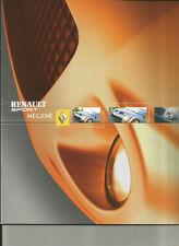 RENAULT SPORT MEGANE 2 RS - 2004 / catalogue brochure prospekt