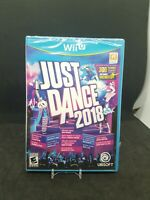 WII U JUST DANCE 2018 BRAND NEW FACTORY SEALED