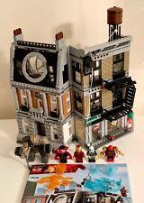 LEGO Marvel 76108 - SANCTUM SANCTORUM SHOWDOWN - 100%, minifigs, instructions