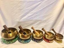 Tibetan Handbeaten Singing Bowl(5sets)