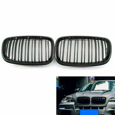 Car Kidney Grill Grille Matte Black Double Slat for BMW E70 X5 E71 X6 2007-2013