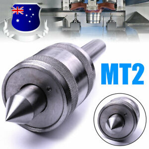 MT2 Live Center Morse Taper Triple Bearing 2MT Metal Lathe Tool For CNC Work AU