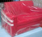 divano 2 posti Divanetto color Rosso tessuto ecopelle sofà poltrona relax sedia