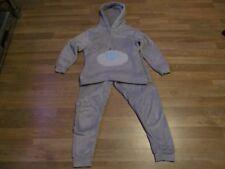 girls me to you hooded  pyjamas grey age 9-10 years