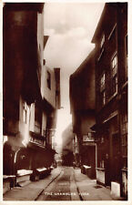 R183842 The Shambles. York. Excel Series. RP. 1938
