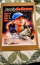 Jacob Degrom 8 x 10 (Autographed) (Steiner Sports COA)