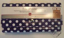 Mundi File Master Wallet,Polka Dot, MSRP $40