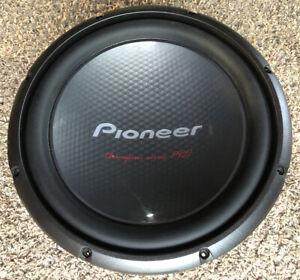 "Pioneer TS-W3003D4 12"" Champion Series PRO Subwoofer 2000W-4ohm Speaker"