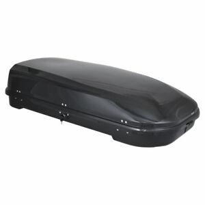 Dachbox Junior FL 580 black glossy / Gepäckbox 580 Liter + 75 kg Zuladung
