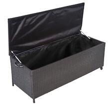 ESSELLA Poly Rattan Auflagenbox Gartentruhe Gartenbox Kissenbox Box Truhe XL XXL