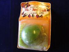Vintage Fibre-Craft Beaded Fruit Kit Pear Old Stock SEALED PKG Pin Sequin A47