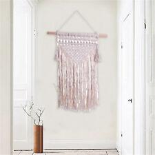"30"" Macrame Woven Wall Hanging Tapestry Handmade BOHO Bohemian Art Wall Decor"