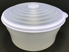 Tupperware Stuffables Container 8 Cup Bowl Blue NEW