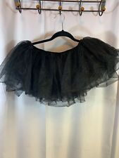 Unbranded Adult Black Tu Tu Skirt One size