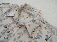 """TED BAKER Mens Shirt 🌍 Size 4 (44"""" CHEST) 🌎 RRP £110+ 📮 FANTASTICALLY FLORAL"""
