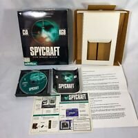 Spycraft: The Great Game PC Big Box FMV Spy War