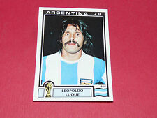 106 LUQUE 1978 ARGENTINA 78 FOOTBALL PANINI WORLD CUP STORY 1990 SONRIC'S