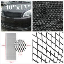 "Rhombus  40""x13"" Universal Aluminium Racing Car SUV Front Bumper Grille Net Mesh"