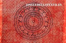 Indian Cotton Wall Hanging Hippie Poster Elephant Mandala Tapestry Throw 30X40