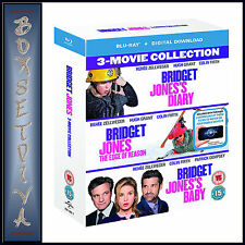 BRIDGET JONES 3 MOVIE COLLECTION   **BRAND NEW BLU-RAY BOXSET***