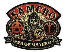 Sons Of Anarchy Men Of Mayhem Sticker 3X4