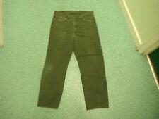 """Levi's 520 jeans dritto vita 36 """" gamba 32 """" sbiadito Nero/grigio jeans da uomo"""