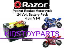 New! 24V Battery Pack for Razor Pocket Rocket V1-6  W/Harness!
