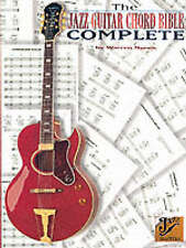 NEW The Jazz Guitar Chord Bible Complete by Warren Nunes
