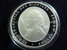 Gelegenheitsausgabe 10-Euro-Gedenkmünzen der BRD aus Silber