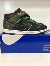 the latest 1662a 404fe Nike SB Dunk Mid Nitraid 11 denim paris supreme freddy medicom