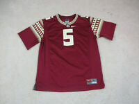 Nike Florida State Seminoles Football Jersey Youth Extra Large Red Kids Boys A33