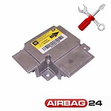 Reparatur Airbag Steuergerät Opel Vectra C 13142540 GP 13118804 AQ 13129843 CL