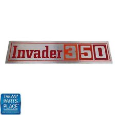 Chevrolet Cars Valve Cover Decal Invader 350 DC0236