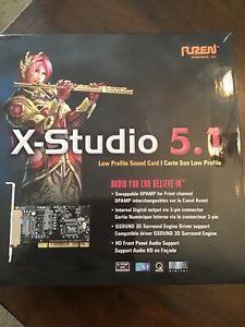 SOUND CARD:  LOW PROFILE:  X-STUDIO 5.1:  AUZENTECH,  INC:  SOUND CARD