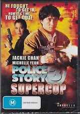 POLICE STORY 3 - SUPERCOP -  Jackie Chan, Michelle Yeoh, Maggie Cheung  -  DVD