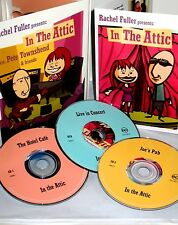 In The Attic Pete Townshend & Friends 1 DVD& 2CDS Ben Harper Lou Reed,The Who