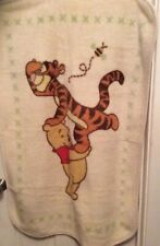"Disney Winnie the Pooh and Tigger Plush Blanket 47"" X 31"""