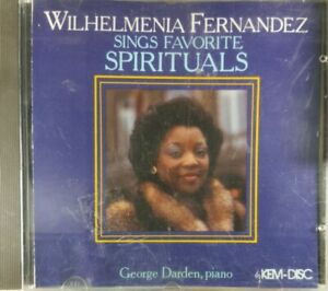 Wilhelmenia Fernandez Sings Favorite Spirituals CD