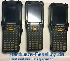 3x Motorola/Símbolo MC9094 Inalámbrico 2D Barcode Escáner MC9094-KKCHJEHA6WR