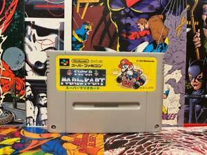 Super Mario Kart Nintendo Super Famicom SFC SNES Japan Authentic