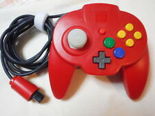 Used Nintendo 64 Hori Pad Mini Controller RED from Japan +tracking number