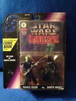 Star Wars DH Shadows of the Empire Comic Book and Prince Xizor vs. Darth Vader
