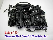 50x genuine dell latitude pa-4e ac power adapter charger 130w ju012 pro3x pro2x