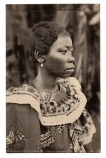 DEM REPUBLIC OF CONGO, AFRICA, ABARAMBO WOMAN, COIFFURE, JEWELRY c. 1904-14