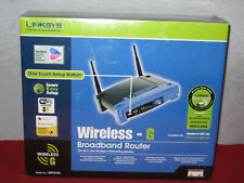 NEW Linksys Wireless - G Broadband Router WRT54G New In Box Factory Sealed