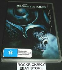 PLANET OF THE APES -2 DVD SET- DEFINITIVE EDITION REGION 4 (MARK WAHLBERG)