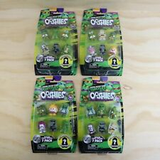 2016 Teenage Mutant Ninja Turtles Ooshies Series 1 - New - 7 Pack Figures