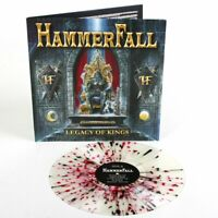 HAMMERFALL - LEGACY OF KINGS - CLEAR - RED - BLACK SPLATTER - LP